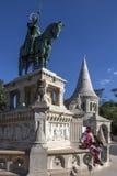 Buda-Schloss - Budapest - Ungarn Stockfotografie