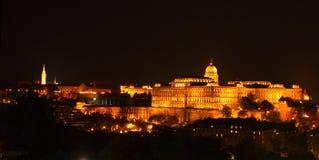 Buda slott Arkivfoto