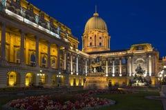 Buda slott - Budapest - Ungern Royaltyfri Fotografi