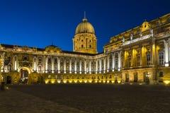 Buda slott - Budapest - Ungern Arkivfoto