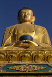 Buda. Statue of Buda en Monkey Temple. Khatmandu Royalty Free Stock Images