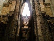 Buda Stutue en el templo de Tailandia Imagen de archivo
