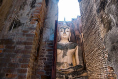 Buda Sukhothai antigo Foto de Stock Royalty Free