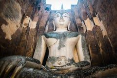 Buda Sukhothai antiguo Imagen de archivo libre de regalías