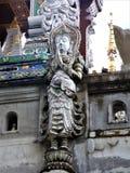 Buda tailandés en un templo en Chiang Rai foto de archivo