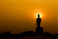 Buda tailandesa Fotografia de Stock