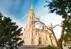 Buda temple church of Matthias. Budapest Castle District. Royalty Free Stock Photo