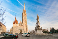 Buda temple church of Matthias. Budapest Castle District. Royalty Free Stock Photography