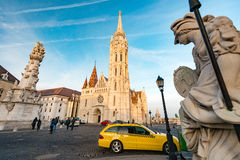 Buda temple church of Matthias. Budapest Castle District. Stock Images
