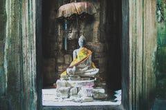 Buda, templo, zen, wat del ankor, Camboya, ruinas, exploración, pasión por los viajes, vacaciones, paz, tranquilidad fotografía de archivo