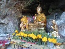 Buda Trang com alguns tipos de flores Fotografia de Stock