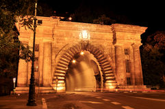 Buda tunnel in Budapest stock photos