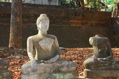 Buda velha tailandesa Fotografia de Stock Royalty Free