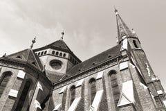 Buda verbesserte Kirche, Budapest lizenzfreies stockbild