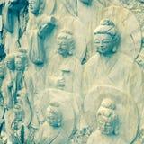 Buda-Wand Lizenzfreie Stockfotografie