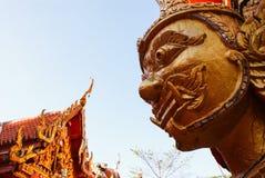 Buda/Wat Bang Riang na província de Phang Nga, Tailândia Foto de Stock