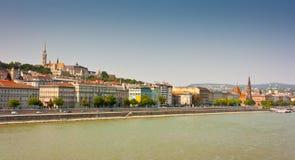 Buda Waterfront Stock Photos