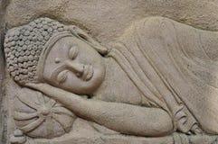 Buda y el conejo Fotos de archivo libres de regalías