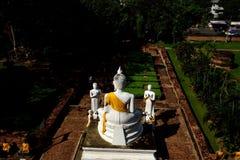 Buda y seguidores Imágenes de archivo libres de regalías
