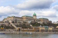 budabudapest slott Arkivbild