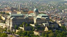 budabudapest slott Arkivfoto