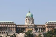 budabudapest slott royaltyfria bilder