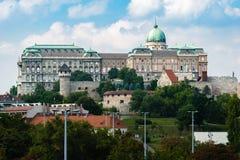 budabudapest slott hungary Royaltyfri Bild