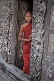 Budah Boy Monk Stock Photo
