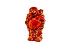 Budai Hotei netsukes royalty free stock images