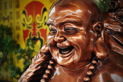 Budai or Laughing Buddha Statue Stock Image