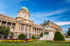 Budakasteel - Boedapest - Hongarije royalty-vrije stock foto