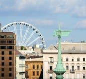 Budapest öga Arkivbilder