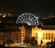 Budapest öga Fotografering för Bildbyråer