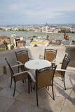 Budapest - światopogląd od ścian zdjęcia royalty free