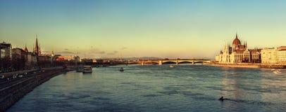 budapest панорамный Стоковое Фото