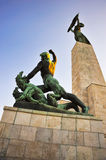 Budapest. The Liberty Statue in Budapest, Hungary - Citadella Stock Images