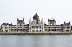 парламент budapest Стоковое Изображение