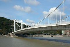 Budapest. Erzsebet Bridge (Elizabeth Bridge) in Budapest, Hungary Stock Images