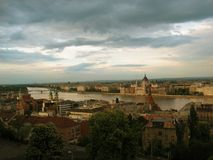 Budapest. Hungary - Budapest in spring time Royalty Free Stock Photography