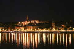 Budapest. A night at the Budapest Royalty Free Stock Photography
