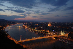 Budapest. A night shoot from Budapest Royalty Free Stock Photos