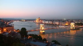 Budapest almacen de metraje de vídeo