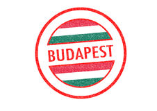 Budapest illustration stock