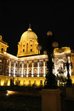 Budapest am Abend Stockfoto