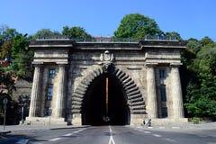 Budapest Adam Clark Tunnel Lizenzfreie Stockfotografie