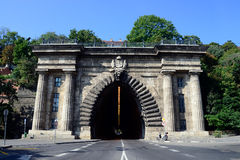 Budapest Adam Clark Tunnel Royalty Free Stock Photography