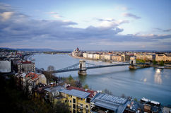 Budapest in the afternoon Stock Photography