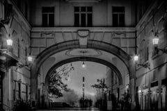 budapest afton Arkivbild