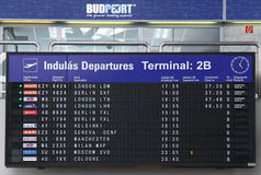 Budapest Airport Royalty Free Stock Image