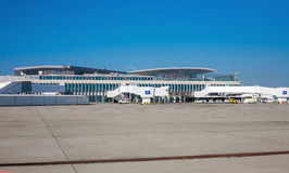 Budapest Airport (BUD) Royalty Free Stock Photography